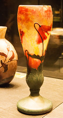 Poppy vase (phillipbonsai) Tags: nancy artnouveau daum glass france daumcrystalcollection muséedesbeauxartsdenancy