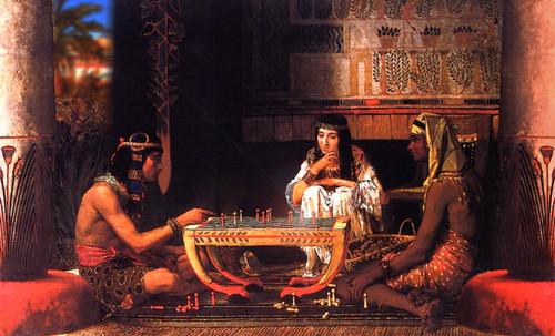"Senet - Lujoso sistema de objetos lúdicos obsequio del dios Toht a la faraona Nefertari • <a style=""font-size:0.8em;"" href=""http://www.flickr.com/photos/30735181@N00/32399619201/"" target=""_blank"">View on Flickr</a>"
