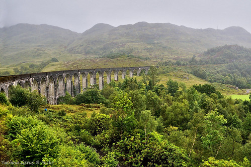scotland westhighlandrailway bridge viaduct
