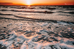 Sea-Foam (The Gaggle Photography | Jessica Nelson) Tags: sun sunset beach sea ocean water jessicanelson gagglephotography