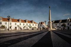Plaza del Marqués de Pombal (Charo Castro) Tags: portugal vilarealdesantoantonio elalgarve ríoguadiana