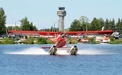 N68083 (John W Olafson) Tags: n68083 seaplane floatplane dhc2 beaver dehavilland lakehood alaska