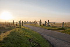 South Down Farms (Matt Kuchta) Tags: sunset sussex countryside farm downland south downs