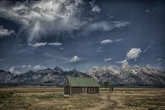Mormon Row Cabin (j_piepkorn65) Tags: tetons mormonrow antelopevalley nationalpark teton national park cabin mountains