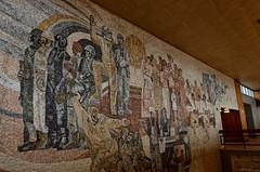 _DSC0004_cw (Wylf) Tags: soviet urss mozaika mosaic urbex cold war youri gagarine ussr hero urbexu history old
