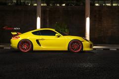Porsche Cayman S ADV7 M.V2 CS Series (ADV1WHEELS) Tags: street wheels deep rims luxury spec forged concave stance gunmetal oem 3piece 1piece adv1 20x9 forgedwheels 20x12 deepconcave advone advancedone antelopeban polishedmattered