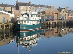 Scotia W (bluetoonloon) Tags: port scotland boat aberdeenshire harbour buchan peterhead scotiaw bluetoonloon