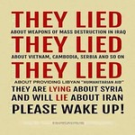 #lies lead to war, From FlickrPhotos
