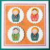 Babushka Dolls Card (crafty Kath) Tags: dolls handmade folk card babushka craftseller
