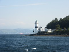 Cloch Lighthouse (neilwhite483) Tags: lighthouse riverclyde clydeport clochlighthouse scottishscenery westernferries clydenavigationtrust clochpoint stevensonlighthouse clydeshipping clydeferry fullyautomated peelports beautifulscottishweather fullyautomatedlighthouse