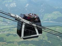 Stanserhorn Cabrio Bahn train Switzerland (roli_b) Tags: panorama mountain schweiz switzerland mt suisse suiza luzern berge mount pilatus svizzera bahn lucerne cabrio lakelucerne stanserhorn stans rigi weitsicht viewaldstttersee bhnli sichtig cabriobahn