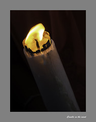 3090b  Baptismal Candle (foxxyg2) Tags: light church candle religion churches baptism greece greekislands cyclades naxos greekorthodox islandlife