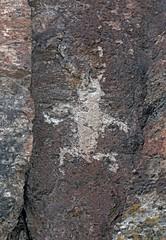 Petroglyph / Fremont Indian State Park (Ron Wolf) Tags: archaeology utah fremont nativeamerican petroglyph anthropology rockart headdress anthropomorph fremontindianstatepark anthromorph
