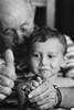 (Frappzzz) Tags: birthday family bw white black love happy monocromo yeah grandpa grandson e bro bianco nero nonno granfather cugino nipote