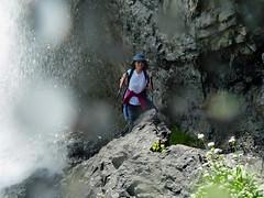 Sotto la cascata (pass under the waterfall) (giorgiorodano46) Tags: august alpi luana altoadige cascata stelvio sudtirolo trafoi trefontane parconazionaledellostelvio agosto2014 giorgiorodano nationalparkstilferjoch