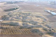 Zabayir el-Qastal (APAAME) Tags: aerialphotograph jadis2312005 megaj11560 oblique scannedfromnegative zabayerelqastal zabayirelqastal aerialarchaeology aerialphotography middleeast airphoto archaeology ancienthistory
