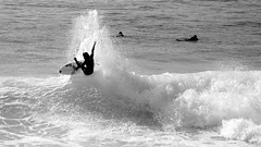 radical off the lip - sequence 2 (daniel_forcher) Tags: white black portugal water sport action outdoor surfer sony young wave surfing move off radical lip ericeira extrem cutback a6000