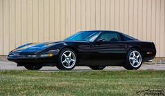 C4 Corvette (scott597) Tags: cruise ohio black fall station wheels chrome restoration corvette c4 zr1 2015 springboro