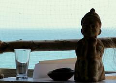 Puducherry (_EdG_) Tags: ocean sea india glass statue indianocean tamilnadu pondicherry frenchcolony puducherry