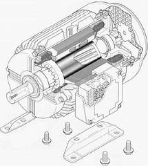 Induction motor  Synchronous motor  ... (spacetoon34) Tags: motor  induction    synchronous