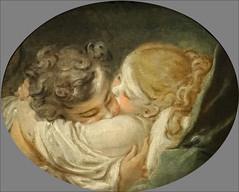 Le Baiser de J.-H. Fragonard (musée du Luxembourg, Paris) (dalbera) Tags: paris france baiser fragonard dalbera muséeduluxembourg