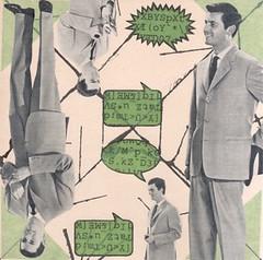 dialogue - the murky origins of mansplaining (kurberry) Tags: green square cutpaste businessmen madmen speechbubbles vintageephemera