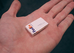 If You Give a Mouse a Delivery Route (ZenLikeMe) Tags: hand box small tiny delivery fedex package ittybitty