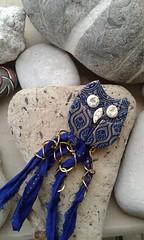 Polymer clay owl (katerina66) Tags: handmade brooch jewellery polymerclay clay silkscreen owl polymer silksari κοσμήματα χειροποίητο καρφίτσα πολυμερικόσάργιλοσ