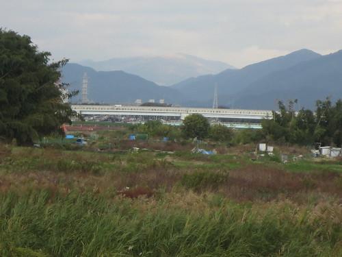 比叡山あたりか
