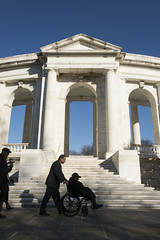 Oldest known World War II veteran visits Arlington National Cemetery (Arlington National Cemetery) Tags: arlington known la virginia louisiana vet unitedstatesofamerica wwii worldwarii va arlingtonnationalcemetery veteran anc tog tomboftheunknownsoldier lakecharles theoldguard oldestveteran