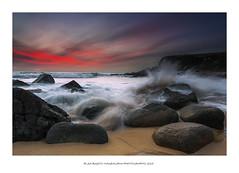 Ondas (PITUSA 2) Tags: naturaleza atardecer playa paisaje galicia cielo nubes olas pontevedra piedras marbravo alanzada ermitadalanzada anosaseñoradalanzada pitusa2 elsabustomagdalena