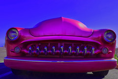 Axis Bold as Love (oybay©) Tags: mercury merc hotrod hot rod flames flamin coolcar car automobile classiccar sunset love petermax sideview dramatic whitewalltires tires whitewall color colors colorful midnight oasis arizona glendalearizona shining bright