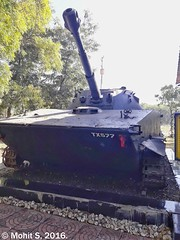 PT-76. (Mohit S92) Tags: cavalrytankmuseum tank museum coldwar pt76 lighttank sovietarmy soviet russia samsung j72016 j76 maharashtra india snapseed military army