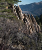 Rocks on Edge (maytag97) Tags: maytag97 idaho rock formation rocks pile strange nature landscape mountains standing mountain beauty weathered formations slabs
