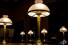 Salle de réunion / Meeting room - Assemblée Nationale - Paris (christian_lemale) Tags: assembléenationale assemblée nationale lampes lamps paris france