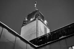 Kaupungintalo - Joensuu (Sami Niemeläinen (instagram: santtujns)) Tags: joensuu suomi finland kaupungintalo eliel saarinen cityhall rakennus building mv bw mustavalkea monochrome blackandwhite city kaupunki urban urbaani architecture arkkitehtuuri