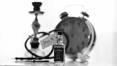 si l'on boit une bonne partie du contenu d'une bouteille portant l'étiquette : poison, ça ne manque presque jamais, tôt ou tard, d'être mauvais pour la santé. (sarahcroche) Tags: jack jackdaniels chicha drinkme clefs absolem aliceaupaysdesmervilles horloge papillon clé alice wiskhy jackdaniel drink clock hour butterfly keys me daniels whisky heure hours