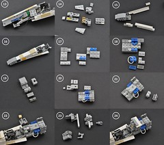 T-65 X-wing: V2 (instructions  Page 2) (Inthert) Tags: lego t65 fighter sfoils x wing starfighter moc ship star wars rebel rogue one squadron income red5 r2d2 luke skywalker instructions breakdown astromech blue
