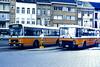 Slide 087-28 (Steve Guess) Tags: flanders flandre flandern фландрия belgium belgique belgien belgië бельгия nmvb sncv vicinal bus 158126 bhn634 van hool nuyens wav willebroek 158133 ebc950