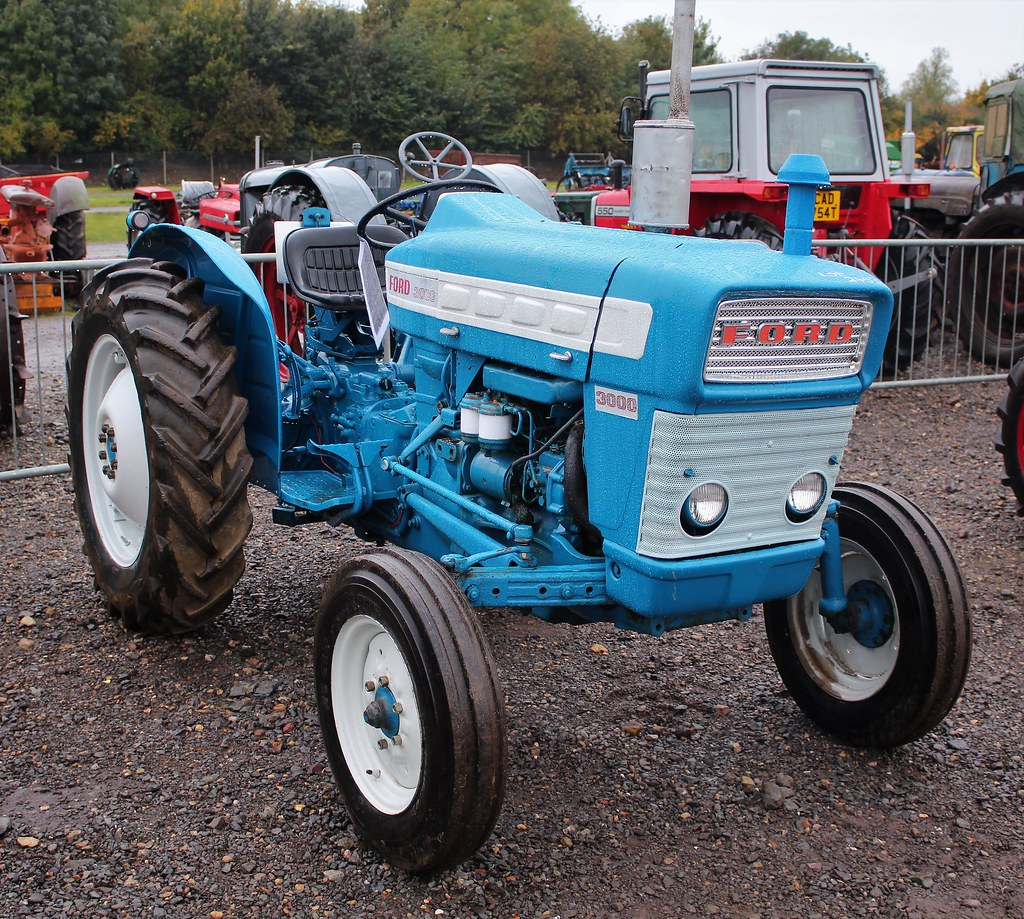 1964 Ford 3000 Tractor : The world s best photos of dexta and tractor flickr hive
