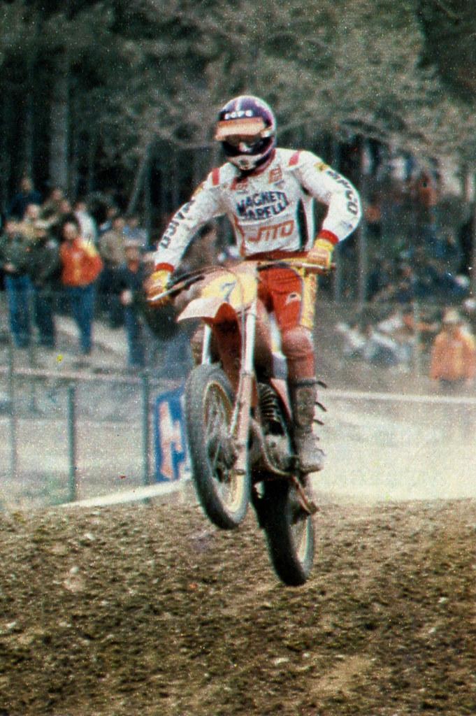 fe2641231f8e4 Angiolini Alberto (motocross anni 70) Tags  albertoangiolini motocross  motocrosspiemonteseanni70 1980 500 arcoditrento maico