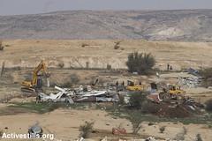 House demolition, Umm Al-Hiran, Negev, 18.1.2017 (Activestills) Tags: negev israel bedouins house demolition police bulldozer debris naqab ummalhiran displacement prawerplan palestinians48 housing topimages faizaburmeleh