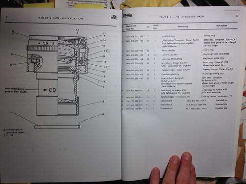 Leica CL Service Manual — Lens Section