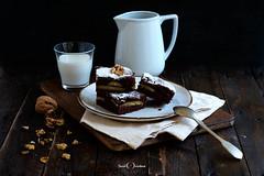 Still life work (David Quintana) Tags: postre spoon cake dessert fuji cuchara comida bodegon stilllife fujifilm pastel