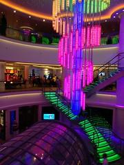 IMG_20161119_191337 (@jonchius) Tags: 2016 cruise norwegianbreakaway ncl atrium neon