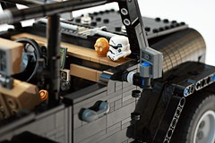 Lego Jeep Wrangler Rubicon - https://ideas.lego.com/projects/159512 (chihokim) Tags: lego ideas jeep wrangler rubicon 4x4 4wd star wars storm trooper c3po moc