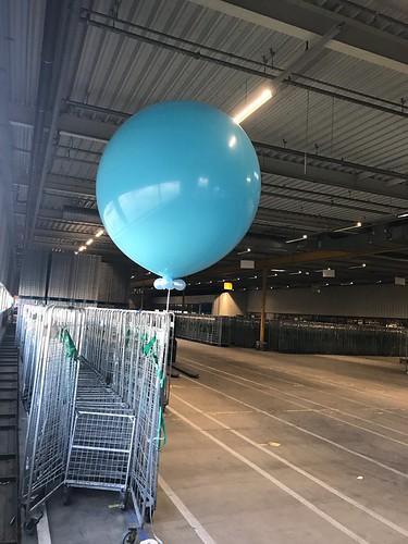 Reuzeballon 170cm AHOLD Distributiecentrum Geldermalsen