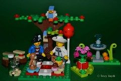 Picnic (365/366) (Tas1927) Tags: 366the2016edition 3662016 day365366 30dec16 captainjack lego pirate minifig minifigure