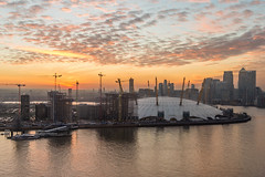 New London. (Alan Habbick Photography.) Tags: canarywharf skyline emiratesairline eastlondon docklands isleofdogs