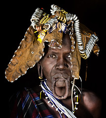 Etiopia (mokyphotography) Tags: etiopia mursi eyes occhi occhiyesvisofacefacesviaggiotravelphotography omovalley donna woman people portrait ritratto persone etnia ethnicity